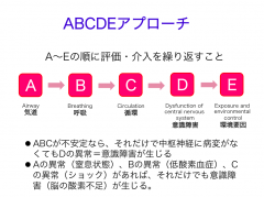 ABCDEアプローチ