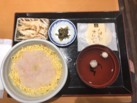 富山城富山駅白えび丼1