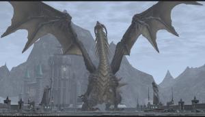 巨大ドラゴン