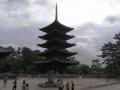 五重塔(この色が興福寺)