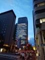 街の灯りがとてもキレイね大阪