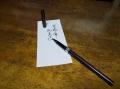 宛名書きすら...