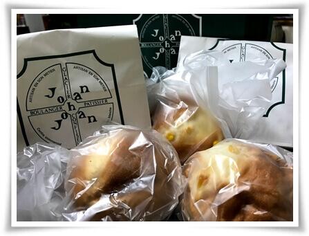 ジョアンのコーンパン