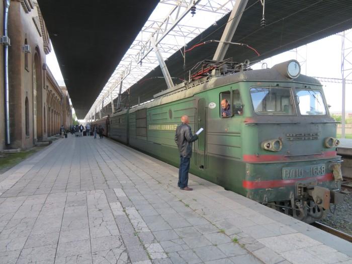 ジョージア・アルメニアを結ぶ寝台列車