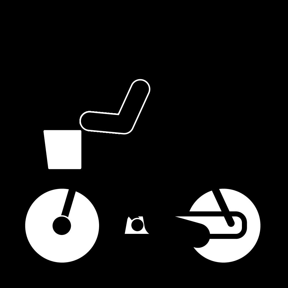 自転車と股関節