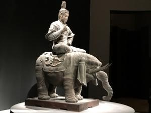 帝釈天騎象像1
