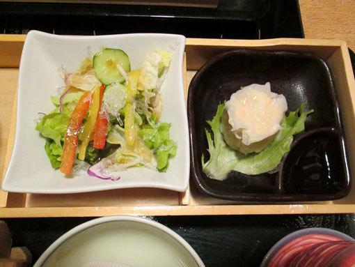 サラダ.焼売