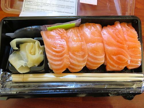 フィンランド スーパーの寿司