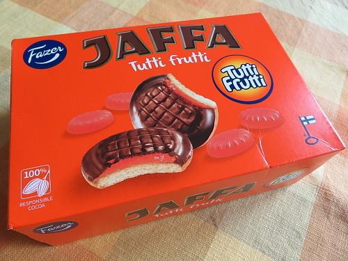 フィンランド Fazer Jaffa Tutti Frutti ソフトクッキー