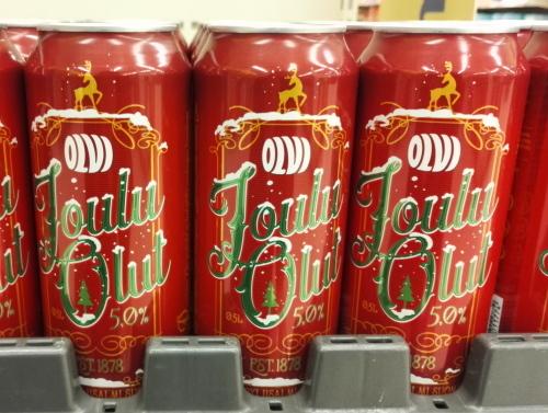 フィンランド クリスマスビール Jouluolut
