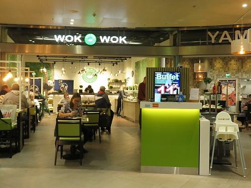 フィンランド ショッピングセンターRedi 寿司バイキング WokWok