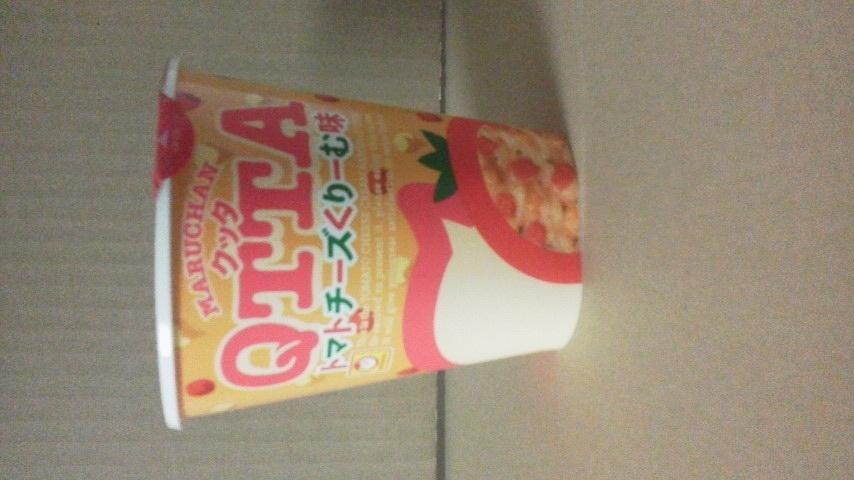 東洋水産「MARUCHAN QTTA(クッタ) トマトチーズくりーむ味」