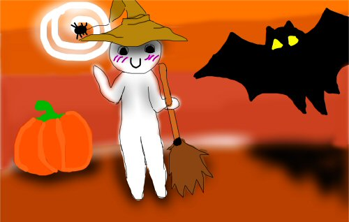04a 500 Halloween rabbit★