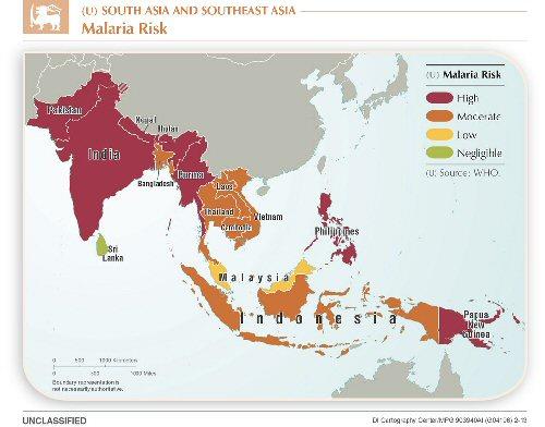 04a 500 Malaria Risk map