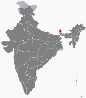 04a 300 シッキム州location map