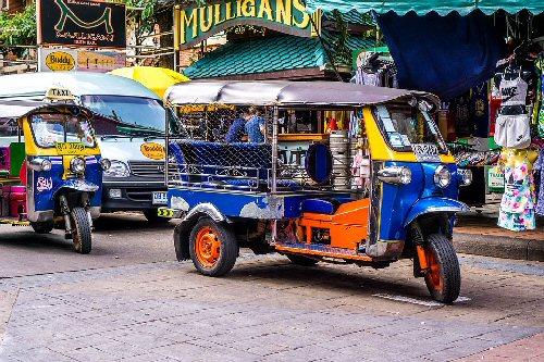 004d 500 taxi thailand