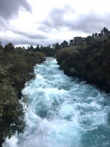 005h 500 Huka falls at Taupo