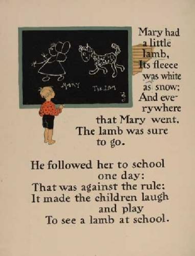 09a 500 Mary had a liitle lamb