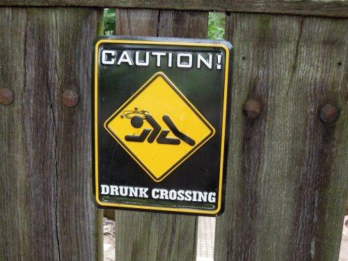 09a 500 drunk crossing