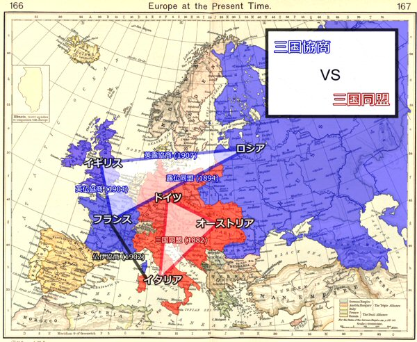 03a 600 三国協商 vs 三国同盟