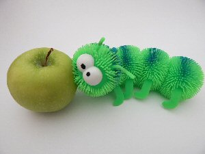 01a 300 worm-eaten apple