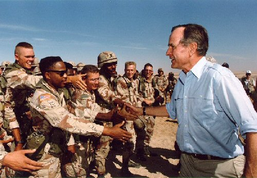04b 500 Gulf War starts