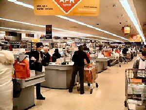 04a 300 supermarket cashier