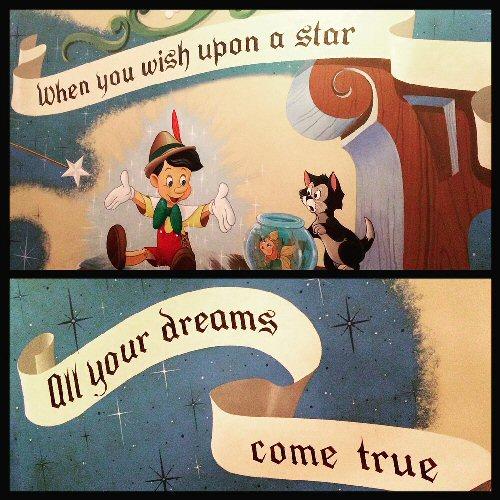 04b 500 wish upon a star Pinocchio