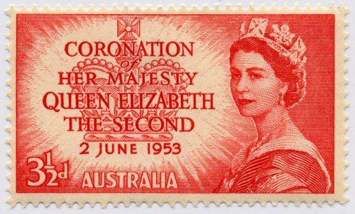 02b 500 Australian stamp