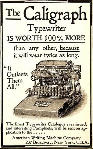 03a 500 old typewriter
