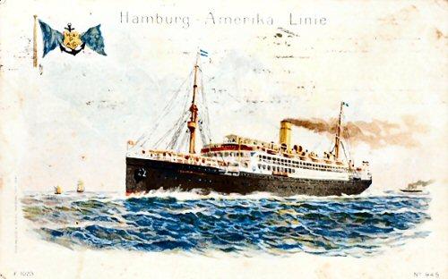 09d 500 Hamburg Amerika Linie