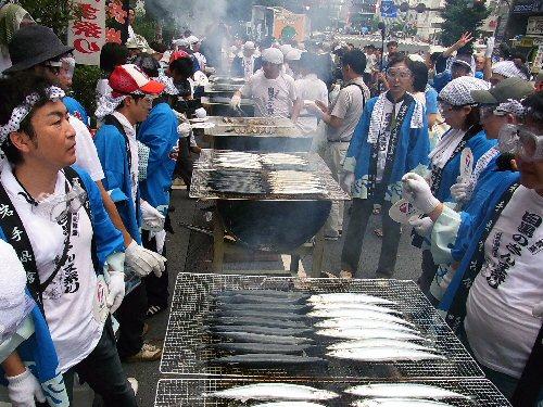 09e 500 目黒の秋刀魚祭in岩手