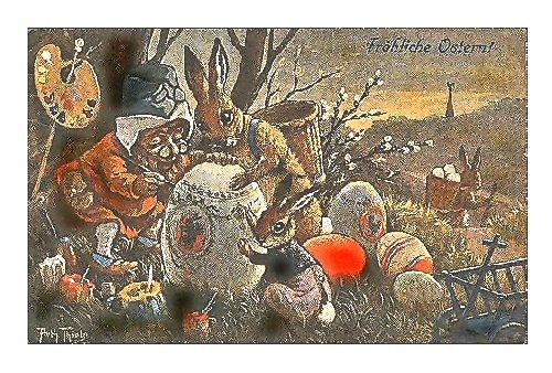 04c 500 Easter Postcard