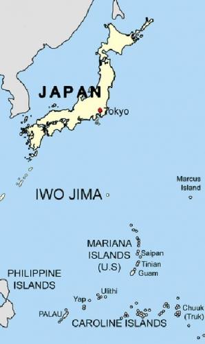 03a 400 Iwo Jima location map