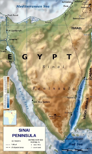 03bb 600 Sinai Peninsula