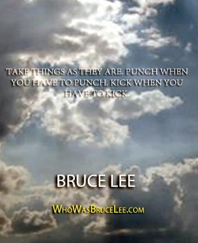 02b 600 Take things Bruce Lee