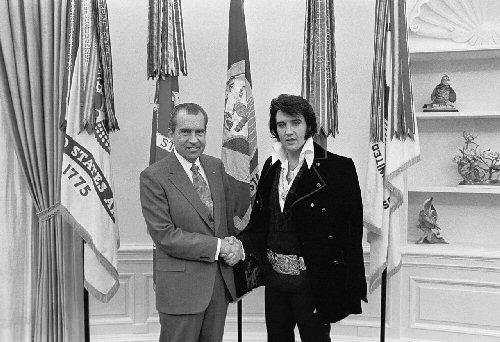 09a 500 Presley with Nixon 1970