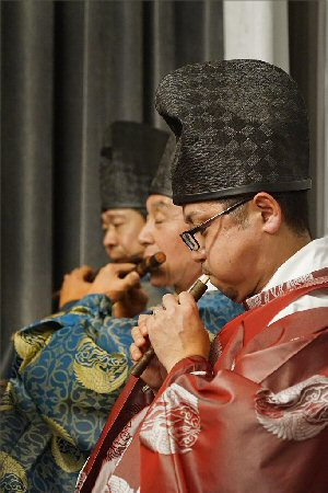 01cb 300 musicians of gagaku