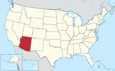 03d 400 location of Arizona