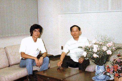 02a 500 19840809 池田正晴市長とYosy