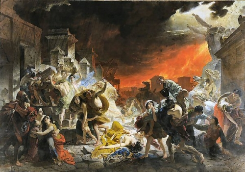 09e 600 Eruption Vesvius