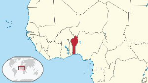 03c 300 location of Benin
