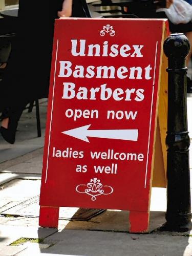 03a 500 unisex barbers