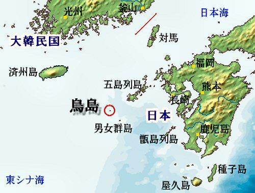 01c 500 map of Kyushu