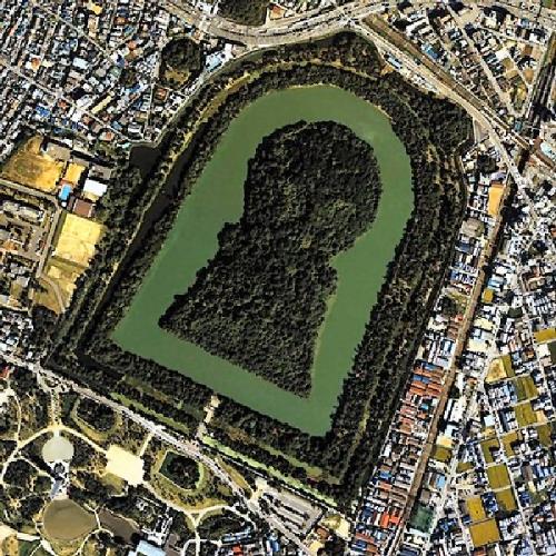 02b 600 仁徳天皇陵墓