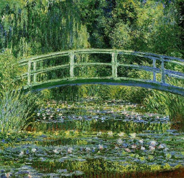 09c 600 睡蓮 water lilies Monet