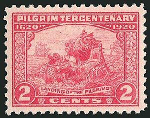03ca 300 Pilgrim stamp