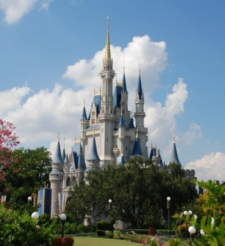 04f 500 Cinderella castle