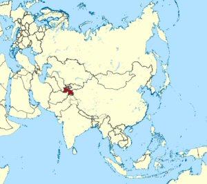 02bb 300 location of Tajikistan