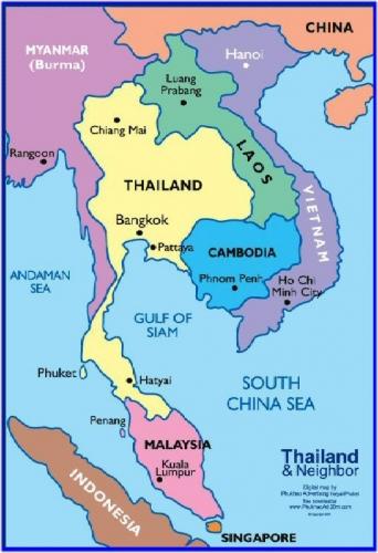 04a 500 Thai map